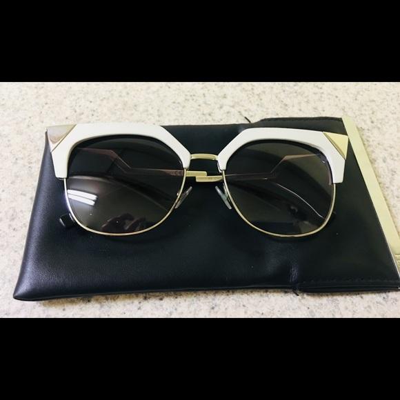 39221d3f36a Fendi Accessories - Fendi Iridia cat eye sunglasses